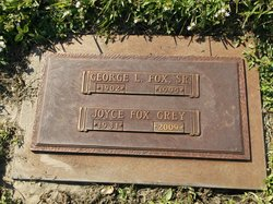 Joyce <I>Fox</I> Grey