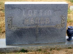 Bertha <I>Loftin</I> Hanna