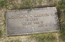 Woodrow W Madden, Sr