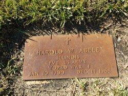 Harold W Abele