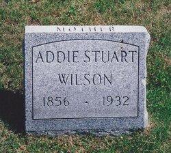 Addie <I>Stewart</I> Wilson