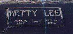 Betty Lee <I>Pressley</I> Ferrell