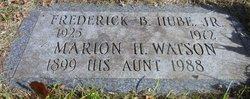 Frederick Bernard Hube, Jr