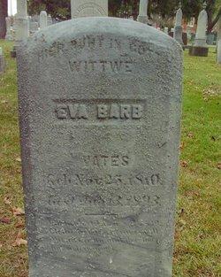 Eva Barbara <I>Galsterer</I> Vates