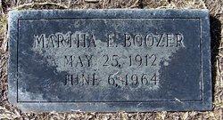 Martha E. Boozer