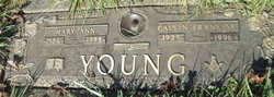 Mary Ann <I>Fitzgerald</I> Young