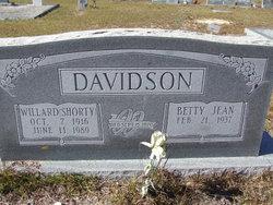 Betty Jean Davidson