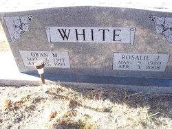 Rosalie <I>Jordan</I> White