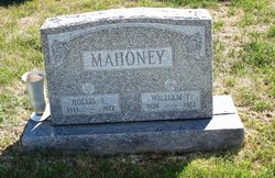 Hollis E Mahoney