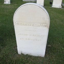 Elizabeth H. <I>Sawyer</I> Kebler
