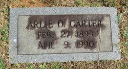 Arlie Dale <I>Burke</I> Carter