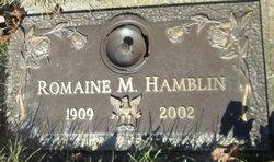 Romaine M <I>Goodwin</I> Hamblin