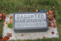 Grace Marie <I>Brady</I> Ruth