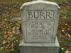 Harriet Marie <I>Wyman</I> Burr