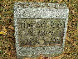Florence <I>Burr</I> Burrows