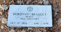 Dorothy <I>Gregory</I> Berry