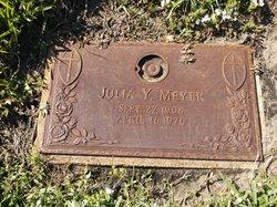 Julia Y Meyer