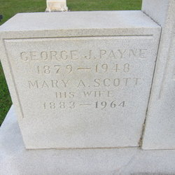 Mary Amelia <I>Scott</I> Payne