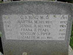 Jennie Anieta <I>Dickinson</I> King