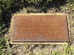 Daniel J McCarthy