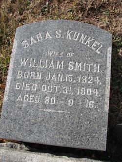 Sara S <I>Kunkel</I> Smith