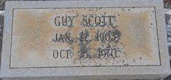 """Alonzo G. """"Guy"""" Scott"""