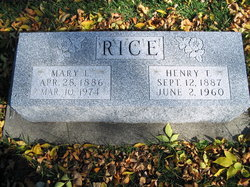 Henry Thomas Rice