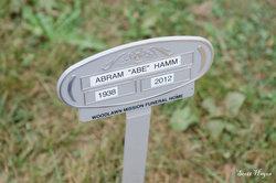 """Abram """"Abe"""" Hamm"""