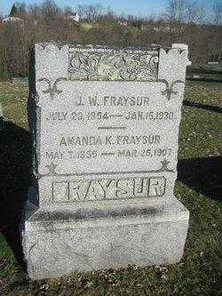 Amanda K Fraysur