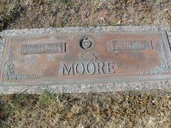 """Ruth Lee """"Pinkie"""" <I>Wood</I> Moore"""