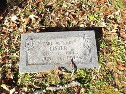 """Carl Will """"Luke"""" <I>Lister</I> Lister"""