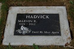 Marvin R Hadvick