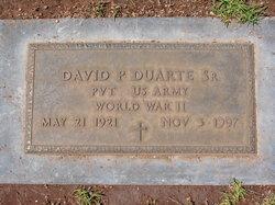 David P Duarte, Sr
