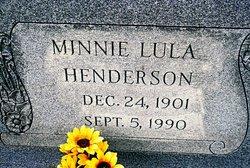 Minnie Lula Henderson