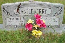 Callie Faye <I>Hill</I> Castleberry
