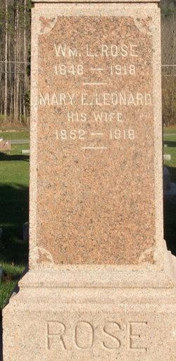 Mary E. <I>Leonard</I> Rose