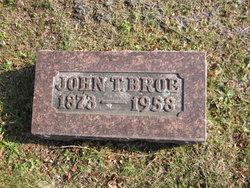 John T Broe