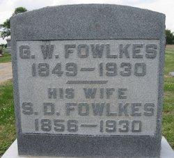 Sallie Dance <I>Walker</I> Fowlkes