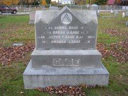 Sarah J <I>Hersom</I> Gage