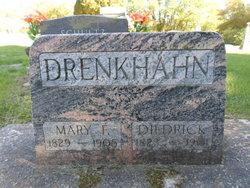 Mary Friederika <I>Hagen</I> Drenkhahn