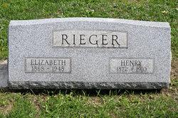 Elizabeth Ann <I>Blum</I> Rieger