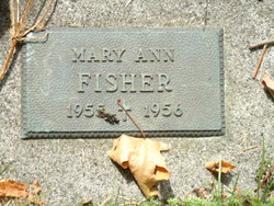 Mary Ann Fisher