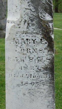 Mary E Corns