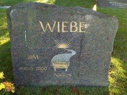 """James """"Jim"""" Wiebe"""