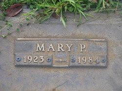 Mary P Burt