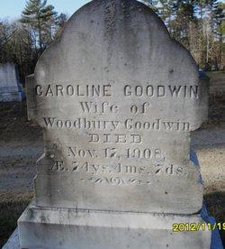 Caroline <I>Whittier</I> Goodwin
