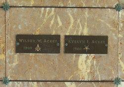 Wilbur Weston Acker