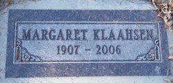 Margaret Klaahsen