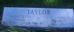 """Katherine A. """"Kate"""" <I>Dunbar</I> Taylor"""