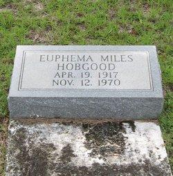 Euphemia <I>Miles</I> Hobgood